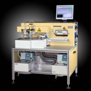 Automatic inspection machine for oil temperature sensors